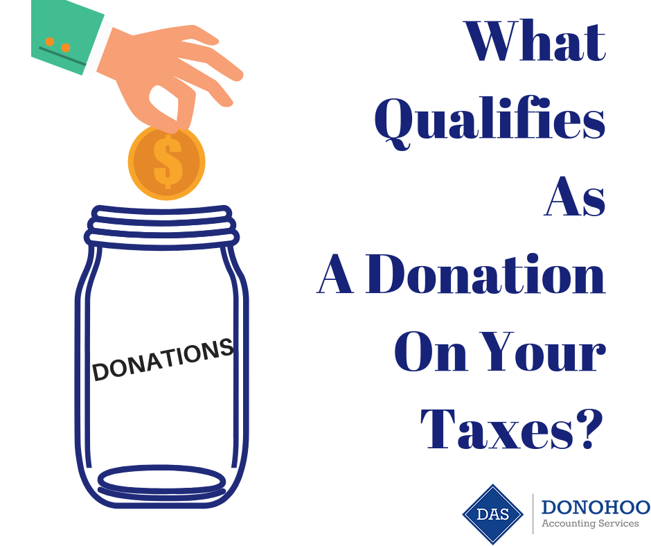 What Qualifies As A Donation On Your Taxes