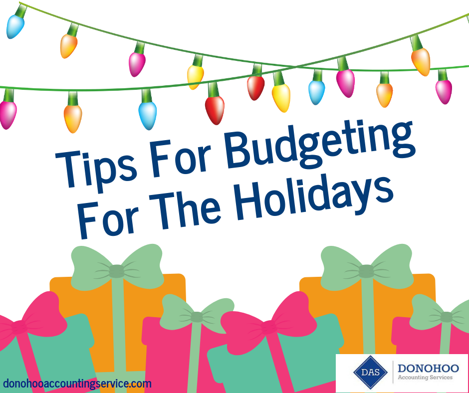 Tips For Budgeting For The Holidays