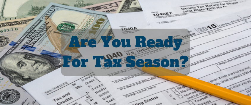 Prepare Now for Filing Your Personal Taxes