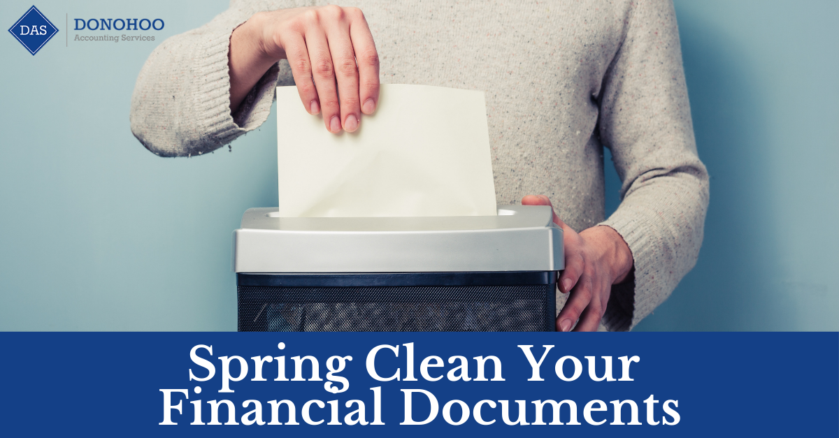 Spring Clean Your Financial Documents
