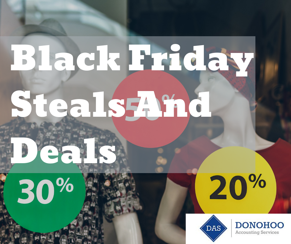 Black Friday Deals and Steals
