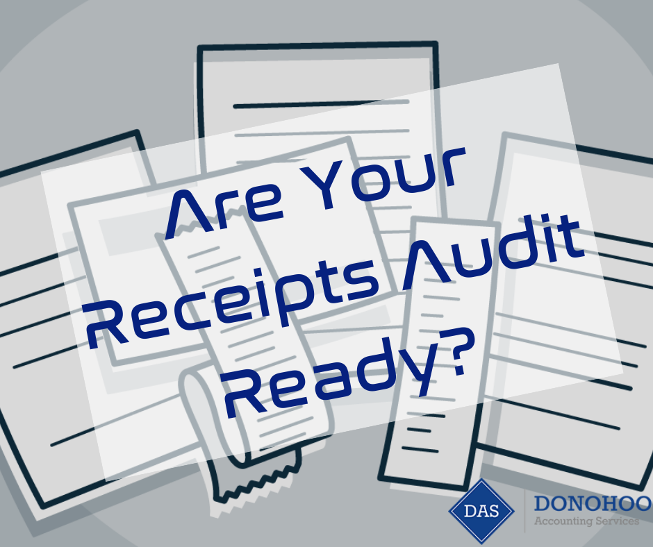 Are Your Business Receipts Audit Ready?
