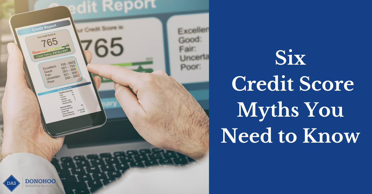6 Credit Score Myths You Need to Know